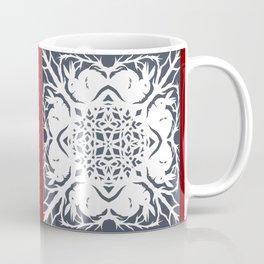 Elegant Cut Paper Bunnies Coffee Mug