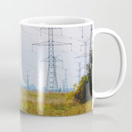 Landscape with power lines Coffee Mug