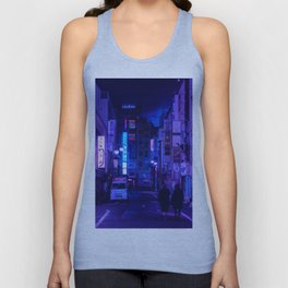 Tokyo Nights / Red Light District / Liam Wong Unisex Tank Top
