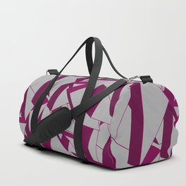 3D Broken Glass IV Duffle Bag