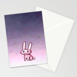 Passive Aggressive Bunny Stationery Cards