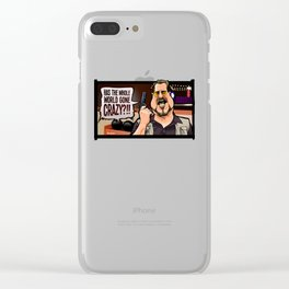 Over the Line! Clear iPhone Case