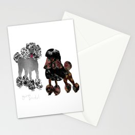 Zwei Pudel Stationery Cards
