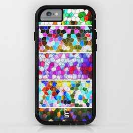 Geometric Worlds (Five Panels Series) iPhone Case