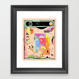 Pfpfpfpf Framed Art Print