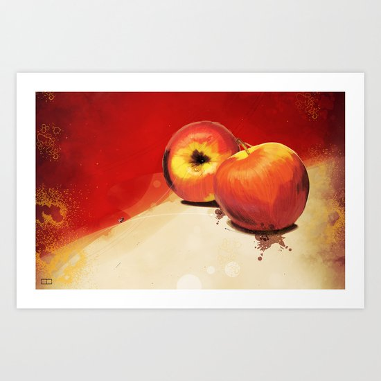 Adam's Apple Art Print