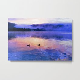 Morning Meditation (Sunrise) Metal Print
