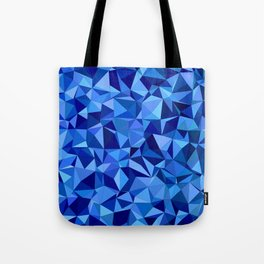 Blue tile mosaic Tote Bag