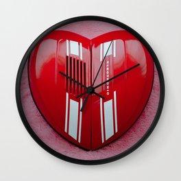 Vespa Valentine Wall Clock