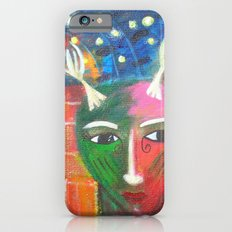 She Lives in a Time of Her Own iPhone 6s Slim Case