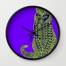 Cat I Wall Clock