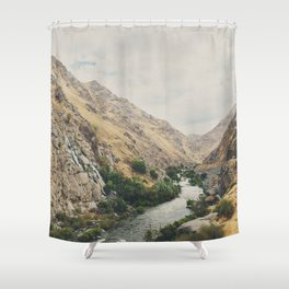 the Kern River .. Shower Curtain