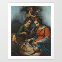 Bolognese School The Nativity Art Print
