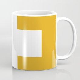 Swiss Cross Mustard Coffee Mug