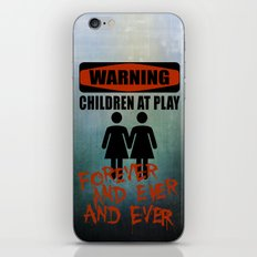 The Overlook Twins iPhone & iPod Skin