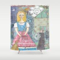 cinderella Shower Curtains featuring Cinderella by inara77