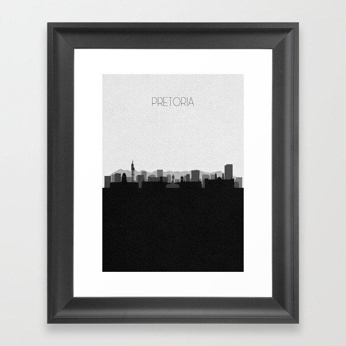 City Skylines: Pretoria Gerahmter Kunstdruck