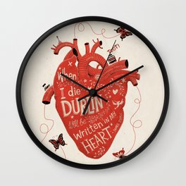 When I Die... Wall Clock