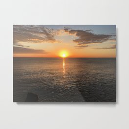 Early Morning by the Lake 2 Metal Print