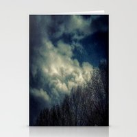 murakami Stationery Cards featuring Evening Sky by Geni