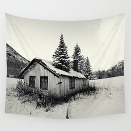 Trees on the roof Wall Tapestry
