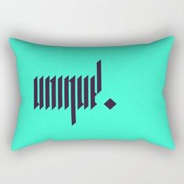 unique. Rectangular Pillow