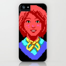 Meet Nancy Maple - The Crimson Diamond iPhone Case
