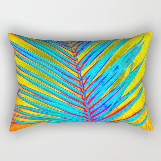 Palm Colors Rectangular Pillow