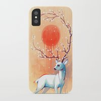 freeminds iPhone & iPod Cases featuring Spring Spirit by Freeminds