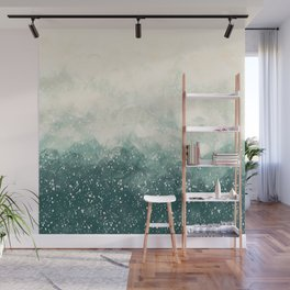 Snowy Summer Wall Mural