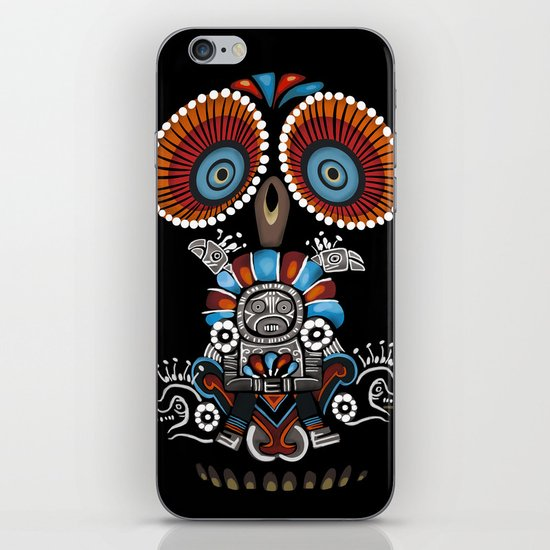 Mexican Owl iPhone & iPod Skin