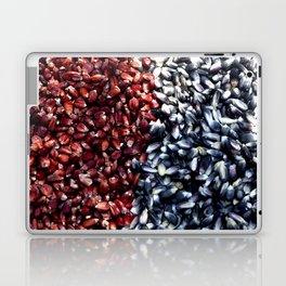 Red and black corn Laptop & iPad Skin