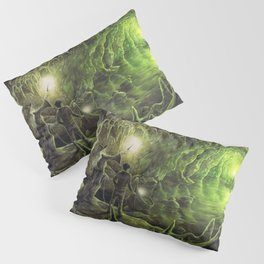 Harry and Dumbledore in the Horcrux Cave Pillow Sham