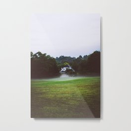 Foggy mornings @ Syracuse, New York Metal Print