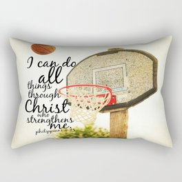 Philippians I can do all things Rectangular Pillow