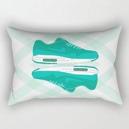 Air max 1 ultra moire Light Retro/White #2 Rectangular Pillow