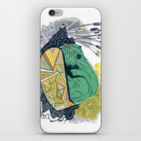 beaver iPhone & iPod Skins featuring The Beaver by Dushan Milic