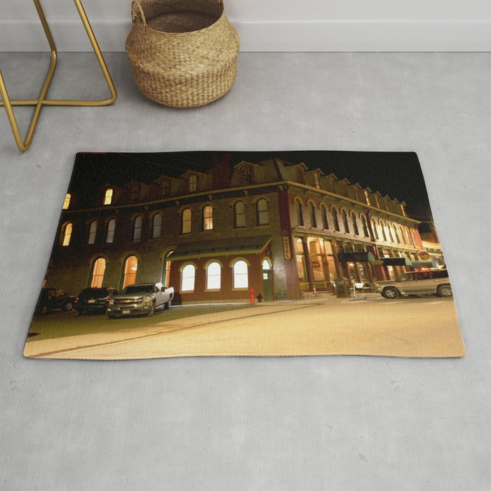 The Grand Imperial Hotel Of Silverton Built In1883 Rug By Garydcourtney