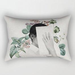 Floral portrait ... Rectangular Pillow