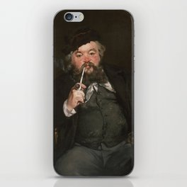 Edouard Manet - Happy Beer Drinker iPhone Skin