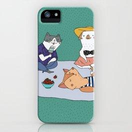 Picnic iPhone Case