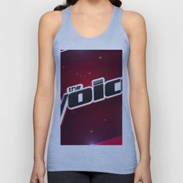 the voice logo Unisex Tank Top