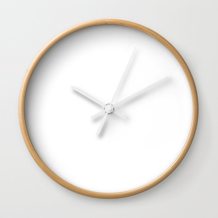 When I Grow Up I want to Be a Gerbil Animal Wall Clock