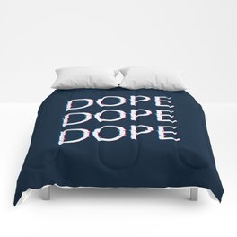 DOPE AF Comforters