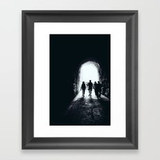 Colosseum Dogs Framed Art Print