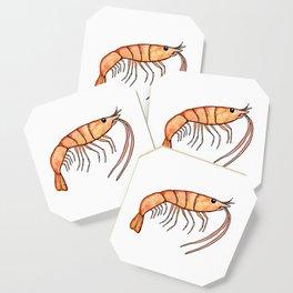 Prawn: Fish of Portugal Coaster