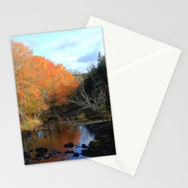 Autumn Reflections Grist Mill Stationery Cards