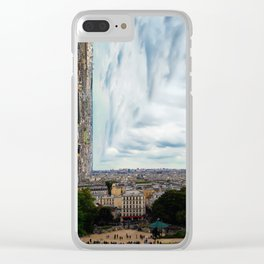 Surreal Paris Clear iPhone Case