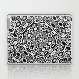 Abstract kaleidoscopic pattern Laptop & iPad Skin