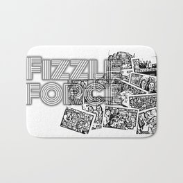 Fizzle Force Photocopy Bath Mat